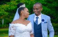Cyprian with his wife on their wedding