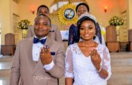 Kilindo & Edna on their wedding day