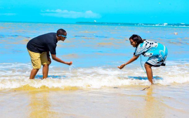 Kelvin & Violeth Pre Wedding Shoots at Azura Beach